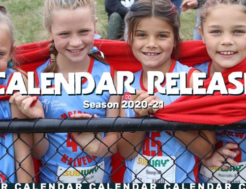 2020-21 Season Calendar Release